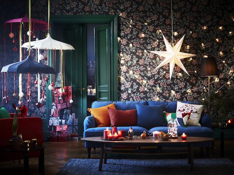 Breng je huis in feestelijke kerstsfeer met de nieuwe Vinter collectie van IKEA #kerst #kerstversiering