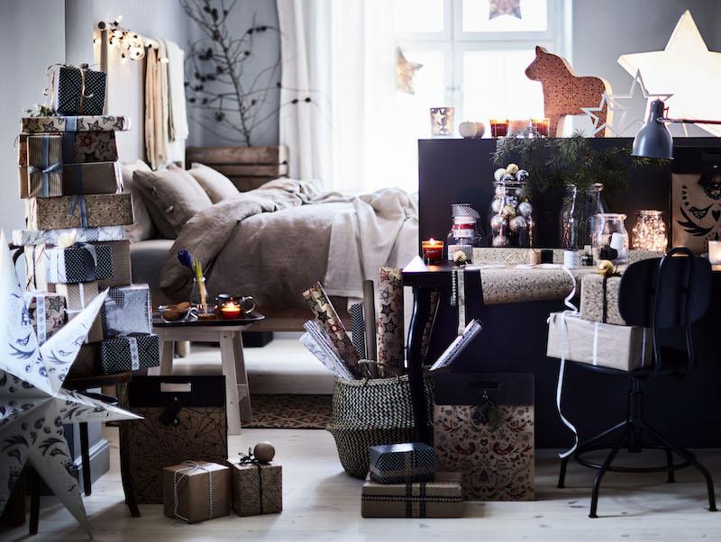 Breng je huis in feestelijke kerstsfeer met de kerstcollectie van IKEA #kerst #kerstversiering