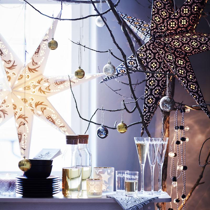 Breng je huis in feestelijke kerstsfeer met de nieuwe kerst collectie van IKEA #kerst #kerstversiering