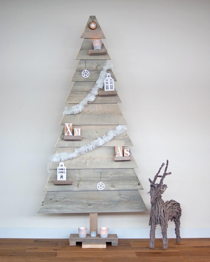 Kersttrend kerstboom van steiger hout nieuws startpagina voor interieur en wonen idee n uw - Houten interieurdecoratie ...