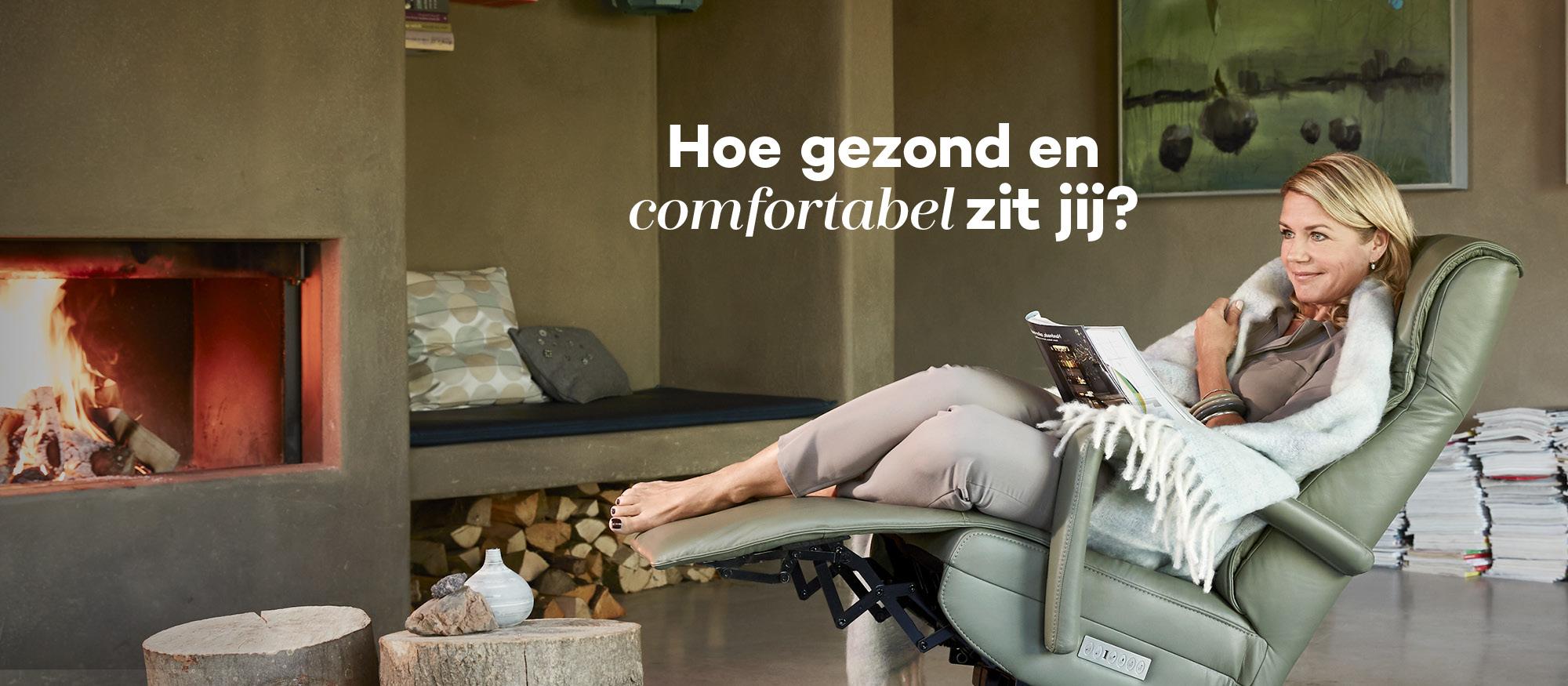 Relaxstoel-relaxfauteuil van Prominent #prominent #relaxstoel