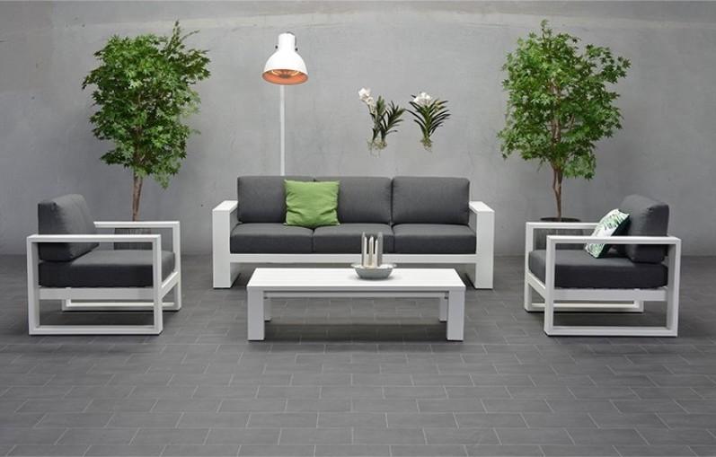 Tuinmeubeltrend: aluminium design #tuinmeubelen #tuin #tuintrends #tuininspiratie