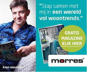Gratis woonmagazine M-Wonen van Morres