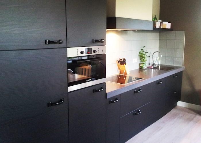5X inspiratie voor moderne keukens. Zwarte keuken #keuken #keukeninspiratie