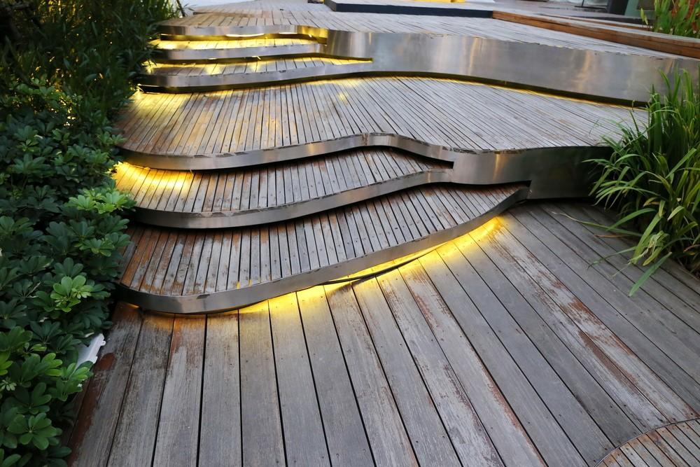 Moderne tuin Led verlichting