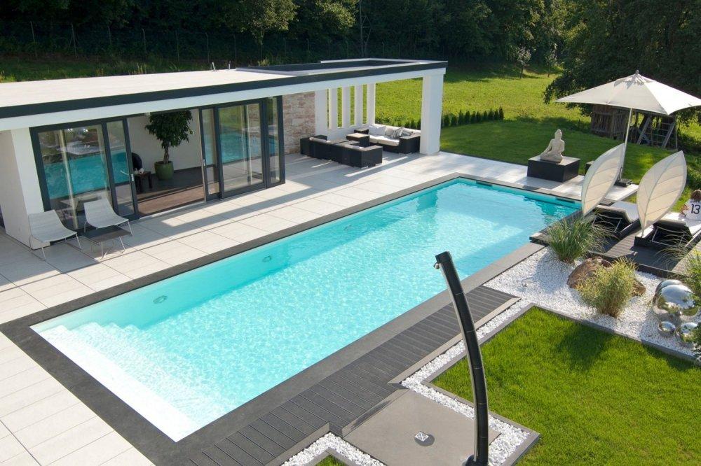 Extra luxe: een zelfreinigend zwembad
